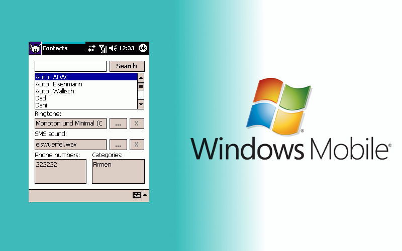 MortRing – Different SMS tone for different senders on Windows Mobile
