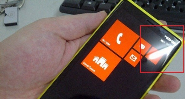 Nokia Prototype running WP8 or WP7.8