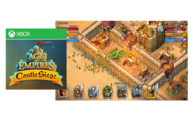 Age of Empires: Castle Siege Now Available on Windows and Windows Phone Store (in Private Beta)