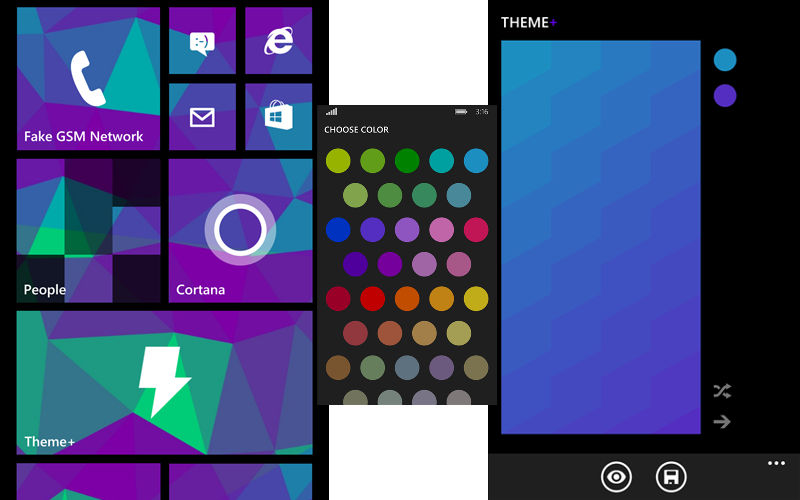 Customize Your Windows Phone Start Screen With Theme+ Now Free Thanks to myAppFree