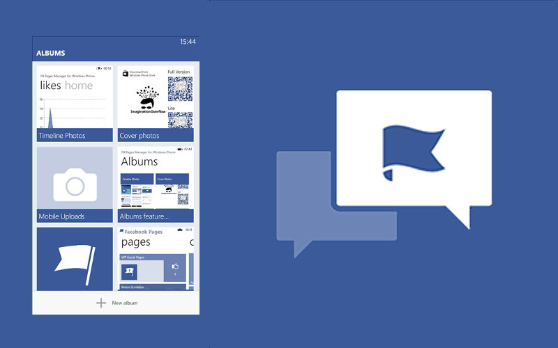 FB Pages Manager for Windows Phone Reduced to 99 Cents to Celebrate Half a Million Downloads