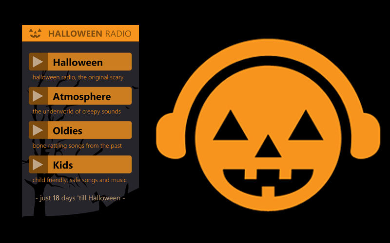 Get in the Musical Spirit of Halloween With Halloween Radio for Windows Phone