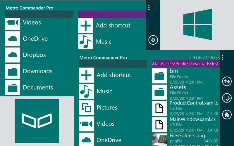 Metro Commander Pro File Manager Free for Today via myAppFree