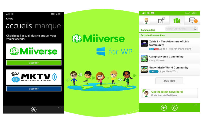 Stay Connected With Your Nintendo 3DS, Wii U Friends on Miiverse for WP