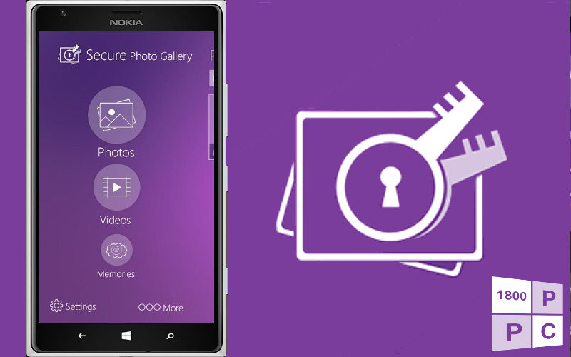 Protect Your Pictures With Secure Photo Gallery for Windows Phone