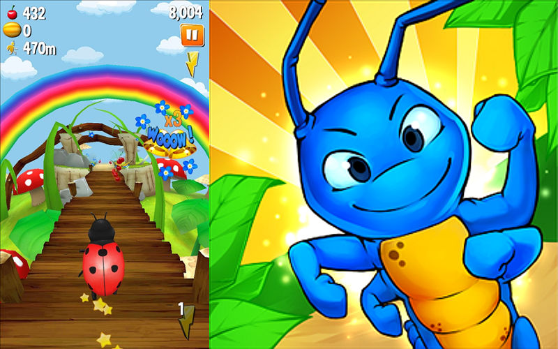 Turbo Bugs – Survival Run is a Great Endless Runner for Kids and Adults Alike