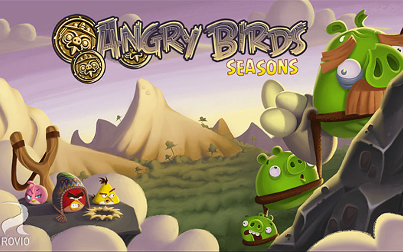 Rovio's Angry Birds Seasons Now Free in the Windows Phone Store