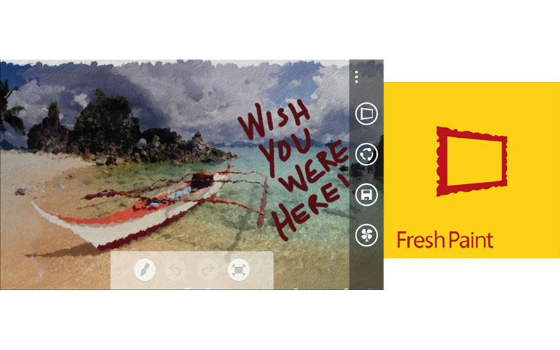 """Fresh Paint App Picks Up New Pencil, """"Inspire Me"""" Feature, and FFC Support"""