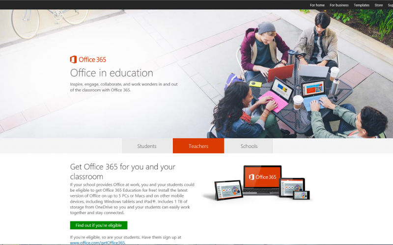 Microsoft Offers Office 365 to Educators and Students in the U.S.