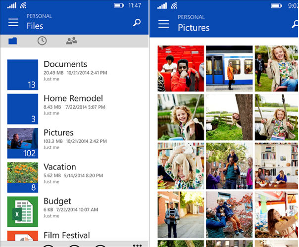 OneDrive, Skydrive app, News about Microsoft