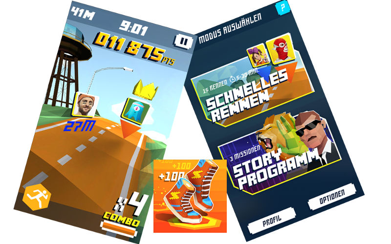 Ubisoft Releases Shape Up Battle Run for Windows Smartphones