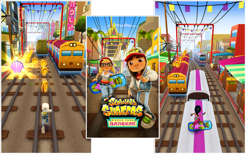 Visit Thailand on Your World Tour With Subway Surfers for Windows Phone