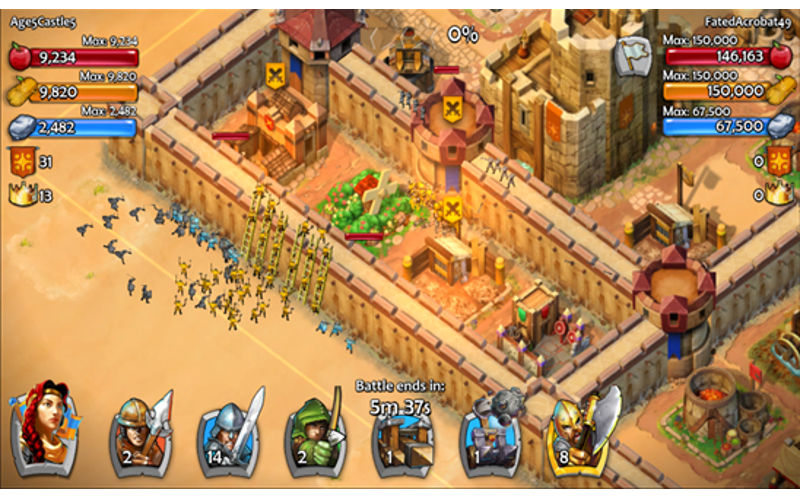 Age Of Empires Castle Siege gets updated with an abundance of fixes