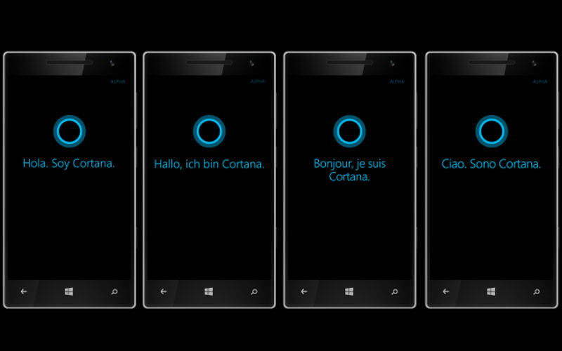 France, Italy, Germany, and Spain Get Cortana in Developer Preview