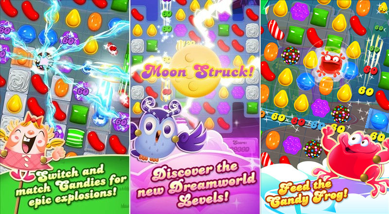 Candy Crush Saga, King Games, Windows