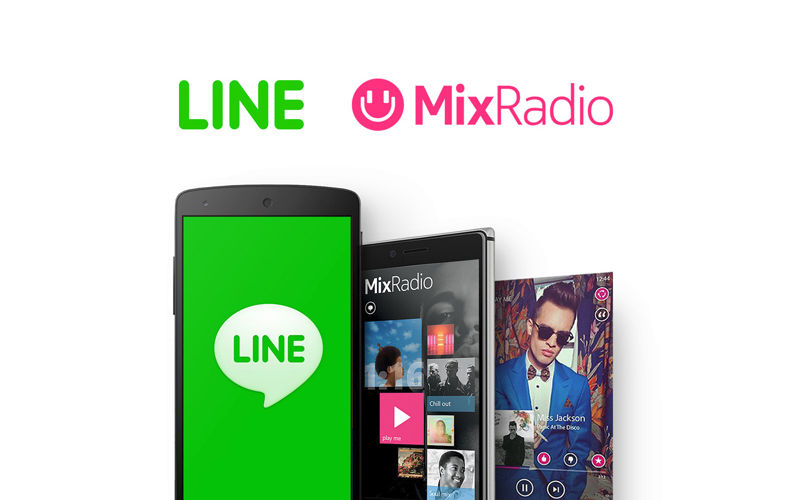 LINE Acquires MixRadio Music Service from Microsoft