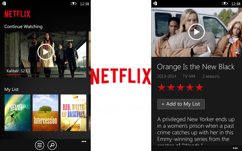 Search With Cortana, Pin Content, and Enjoy a New UI With Netflix for Windows Phone's Latest Update