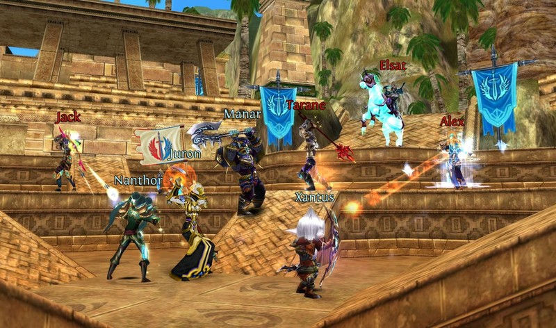 Order and Chaos game, MMORPG, Role-Playing Games