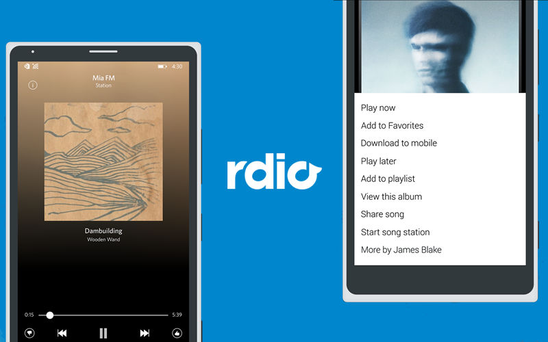 Dance to the Music With New Features Available in Rdio for Windows Phone