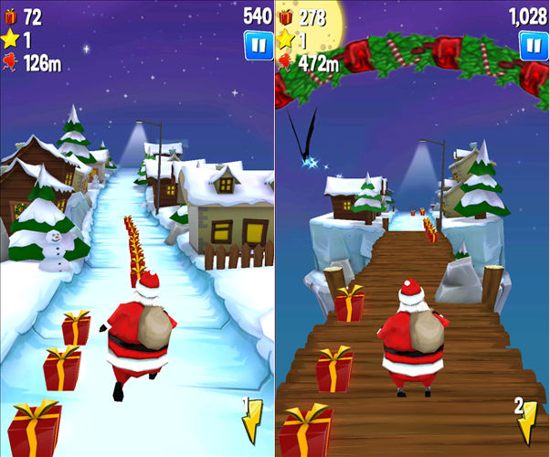 Running With Santa 2, Endless running games, Endless runnners
