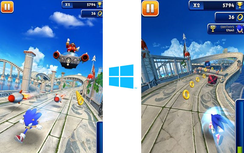 SEGA's Blue Hedgehog Dashes from Phone to PC and Tablet at Sonic Speed
