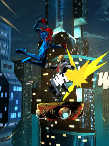Spider Man Unlimited, Spider Verse, Marvel Comics Games