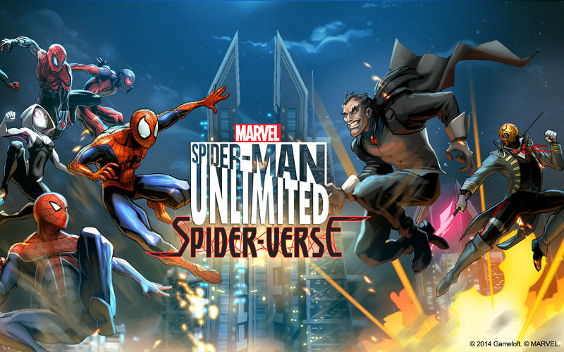 Spider-Man Unlimited Spider-Verse Update Now Available