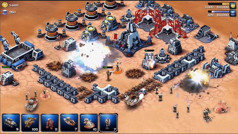 Star Wars Commander, ST Commander, Free to Play game