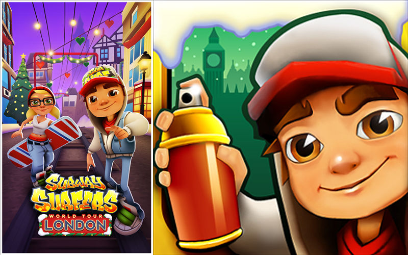 Subway Surfers Visits Merry Old England in Latest Windows Phone Update