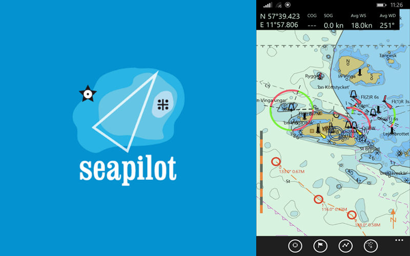Seapilot Marine GPS Navigation App Arrives on Windows Smartphones