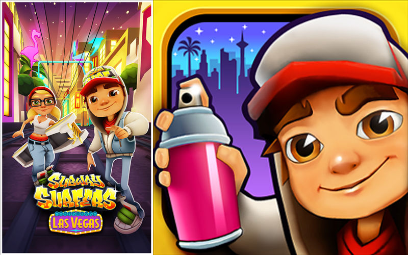 Subway Surfers Head to Sin City in the Latest Update for Windows Phone