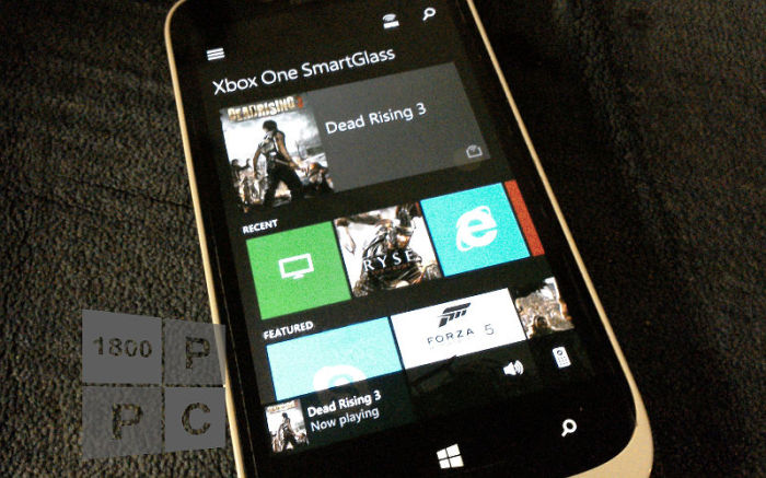 Xbox One SmartGlass on Windows Phone receives a minor update