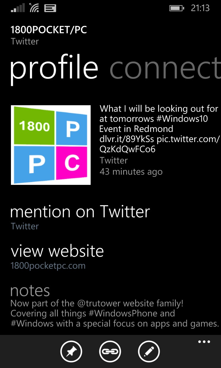 Twitter updates its Windows Phone app to include People Hub