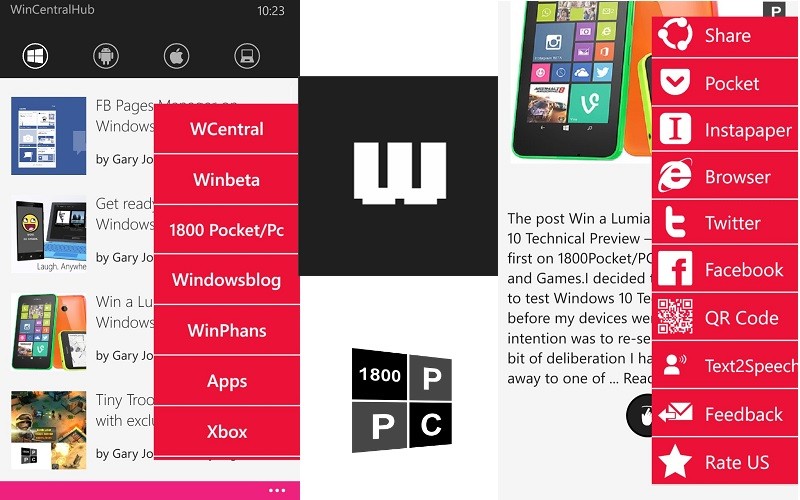 EuroTech Solutions releases a new Multi OS Newsreader to the Windows Phone store