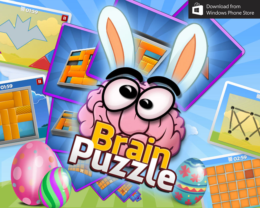 Brain Puzzles, Brain teasers, Games on Windows