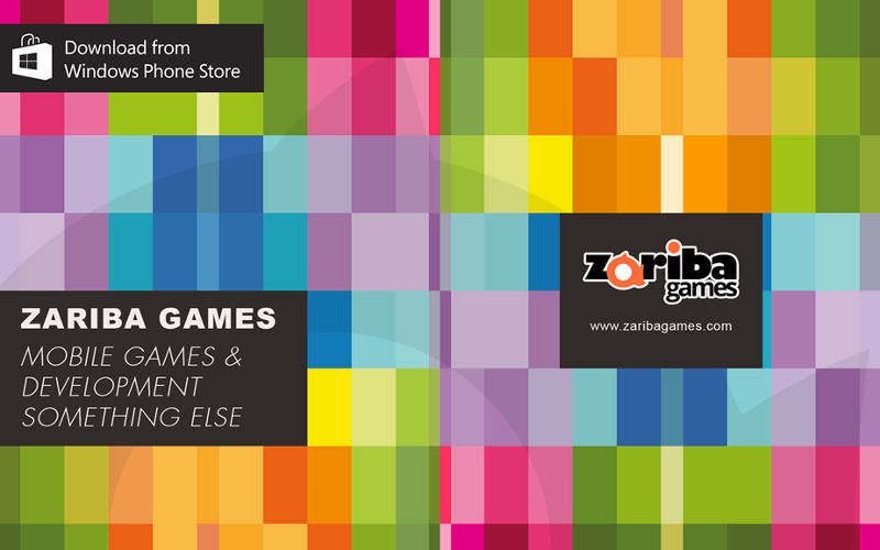 Zariba Games Embraces Microsoft's Platform with promising software in Windows Phone Store