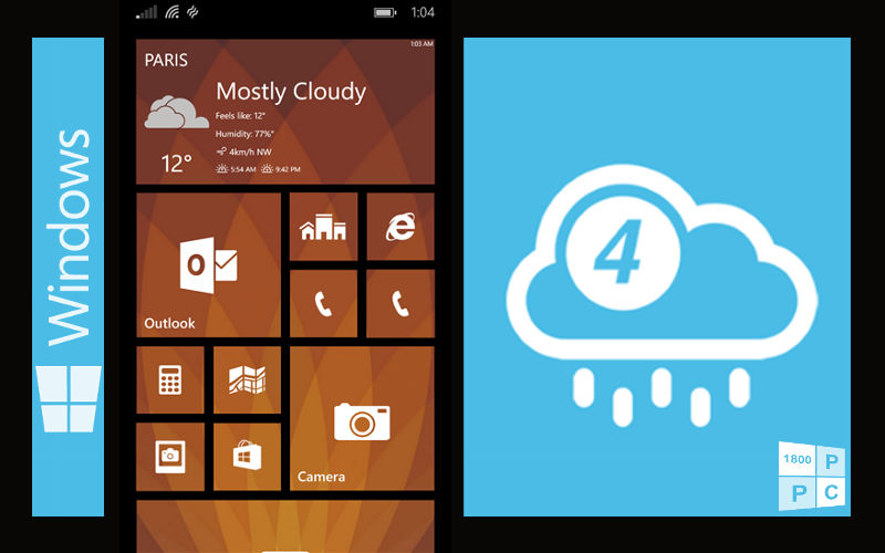 Major Update to 4castr for Windows Phone Takes Your Weather Information to a Whole New Level