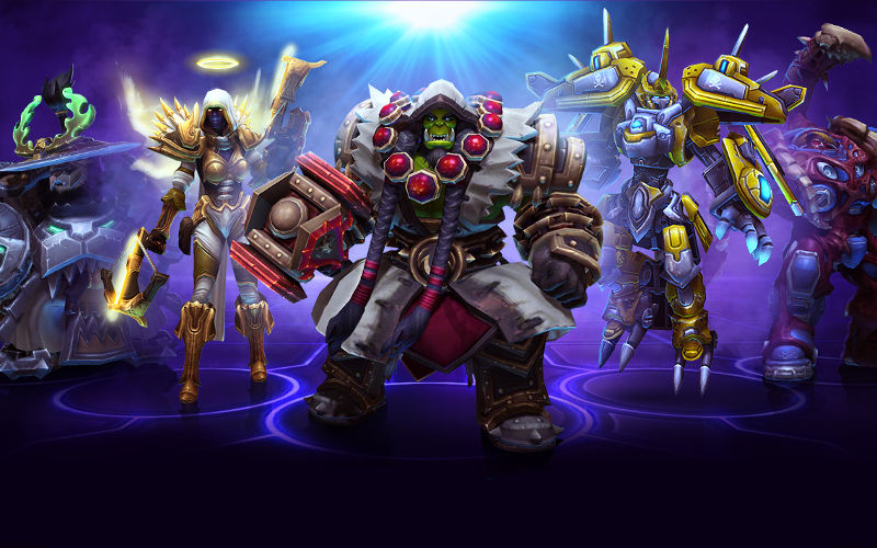 Free-to-Play Online Game Heroes of the Storm from Blizzard Launches on Windows