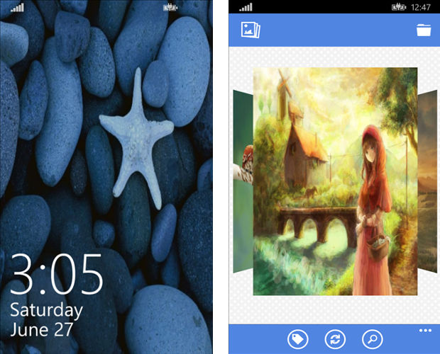 Smart Wallpapers, background apps for Windows, Windows Phone backgrounds