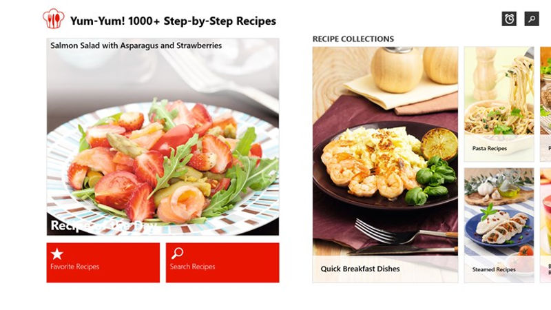 Yum yum recipes and its over 1000 culinary ideas makes the jump to yum yum recipes cooking and culinary apps free software for cooks and culinary forumfinder Gallery