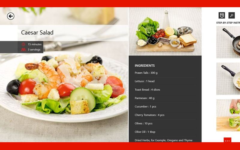 Yum-Yum Recipes and Its Over 1,000 Culinary Ideas Makes the Jump to Windows from Android, iOS