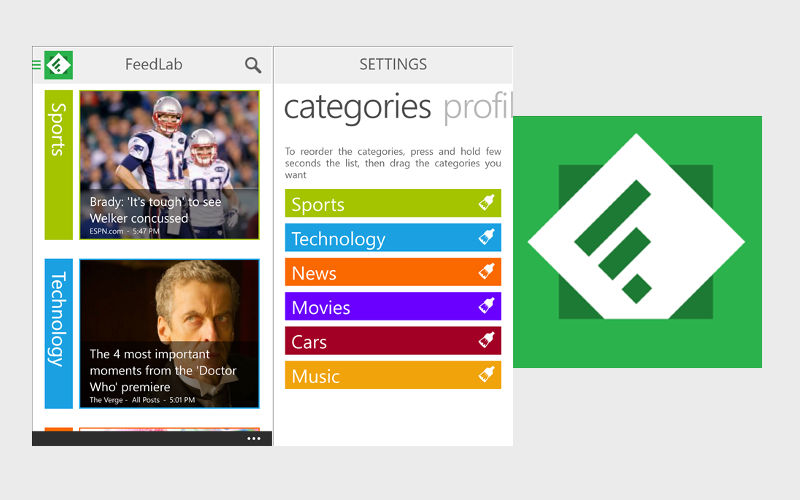 Feedly client FeedLab launches on Windows Phone after months of testing