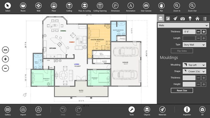 Interior design apps for engineers building apps Floor design app