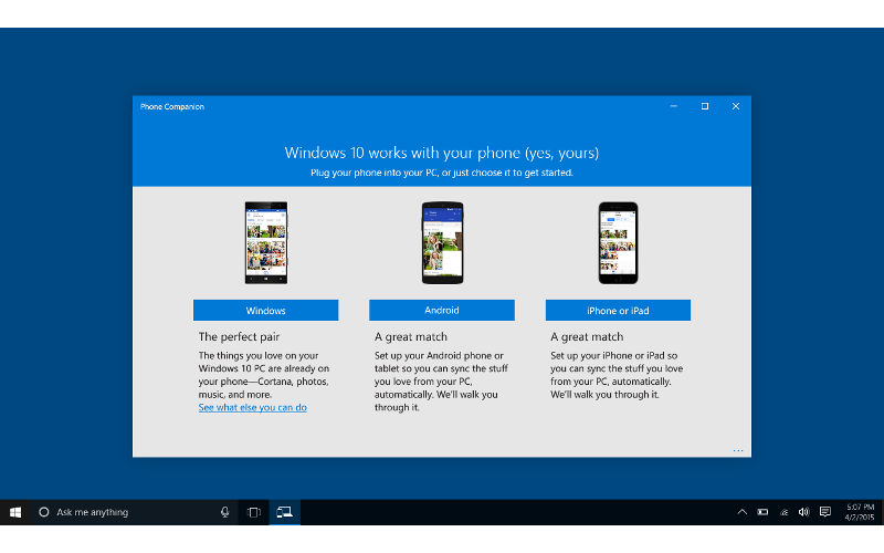 Microsoft Phone Companion app now supports even more Windows Phone models