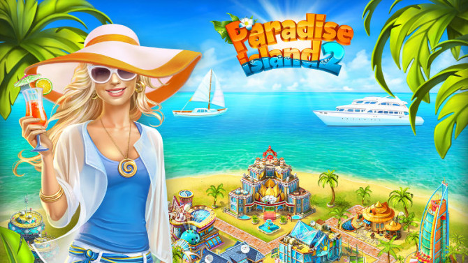 Paradise Island 2, Games on Windows, Game insight