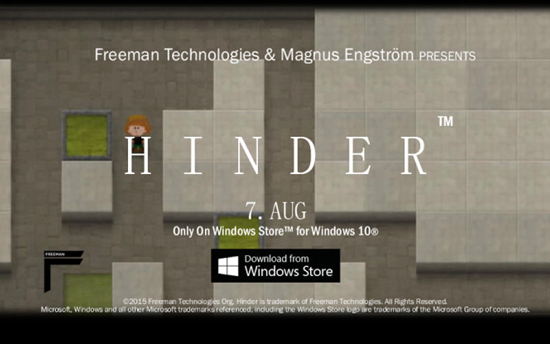 Freeman Technologies officially launches Hinder exclusively for Windows 10 tablets and PCs