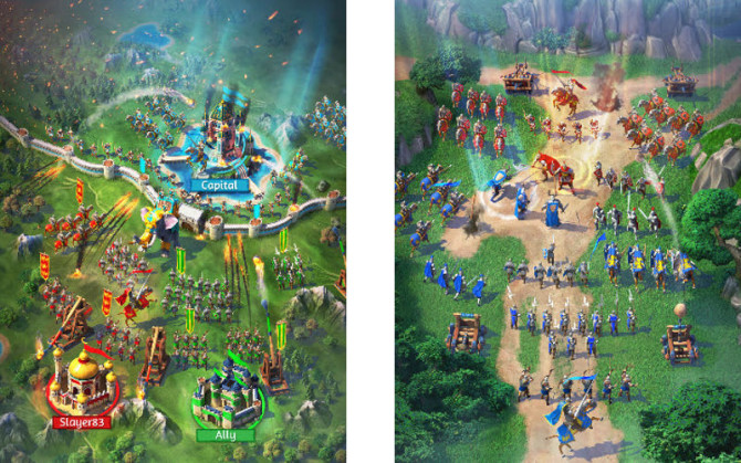 March of Empires, Gameloft games, Strategy titles