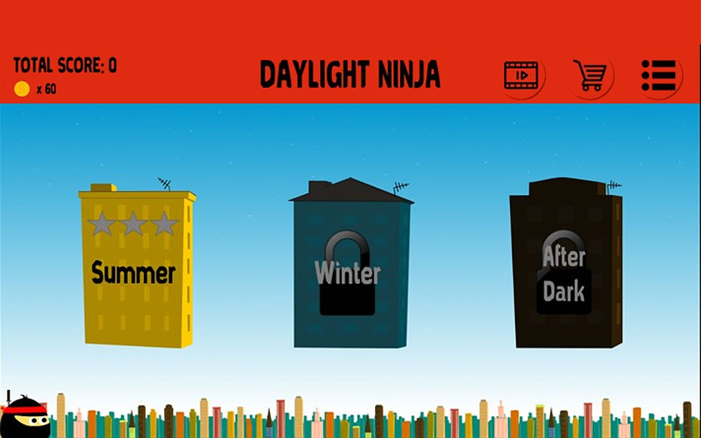 Daylight Ninja for Windows Phone now available