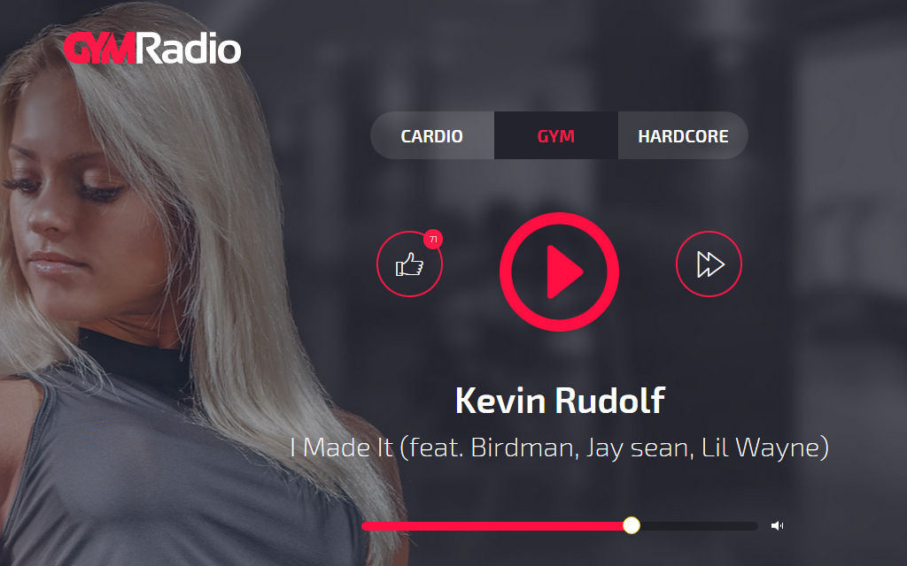Gym Radio for Windows Phone, Windows 10 Mobile can help you break a sweat while busting a move