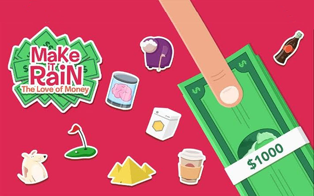 Make it Rain: the Love of Money lets you die and be reborn with perks